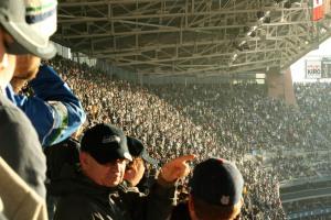Fans at Qwest